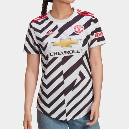 adidas Manchester United Third Shirt 20/21 Ladies