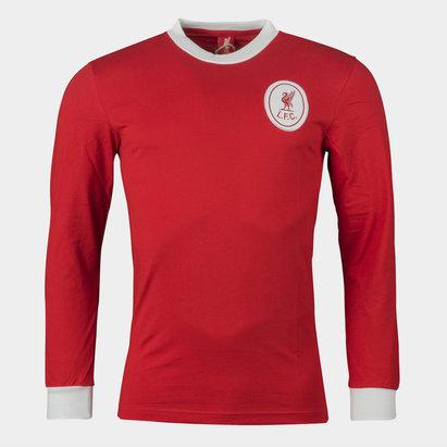 LFC Liverpool 1964 Home M/L Retro - Camiseta de Fútbol