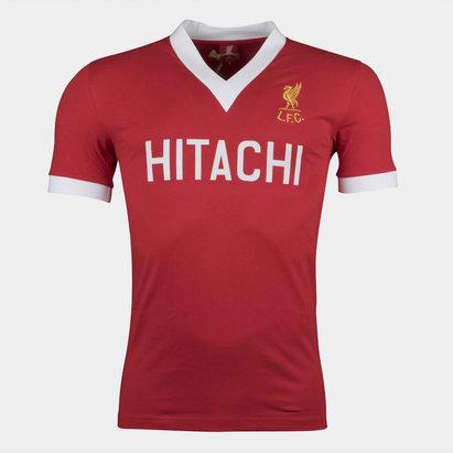LFC Liverpool 1978 Home M/C Hitachi Retro - Camiseta de Fútbol
