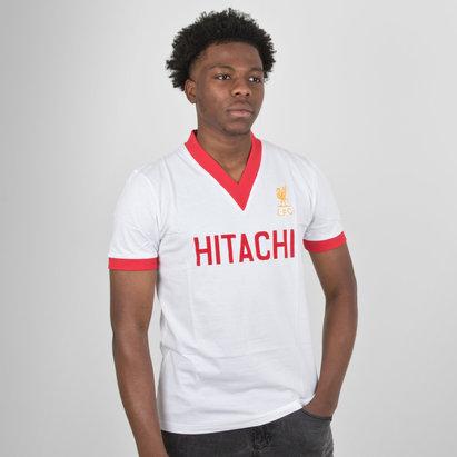 LFC Liverpool 1978 Away M/C Hitachi Retro - Camiseta de Fútbol