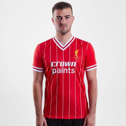 LFC Liverpool 1982 Home Crown Paints M/C Retro - Camiseta de Fútbol