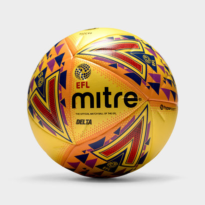 Mitre Delta Hyperseam 14 Panel EFL Official Match - Balón de Fútbol