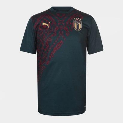 Puma Italy Stadium T Shirt Mens