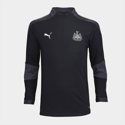 Puma Newcastle United Zip Training Top 20/21 Kids