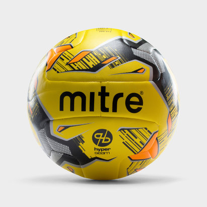 Mitre Ultimatch Fluo Hyperseam - Balón de Fútbol