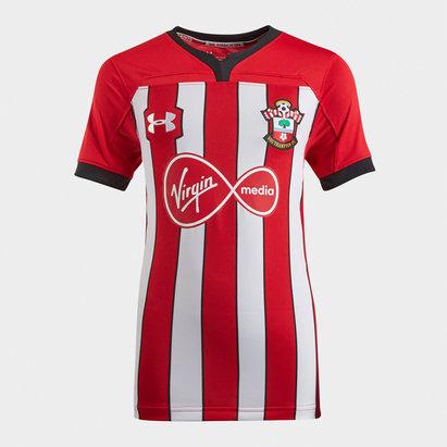 Under Armour Southampton 18/19 Kids Home S/S Football Shirt