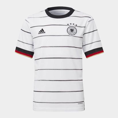 adidas Germany 2020 Home Kids S/S Football Shirt