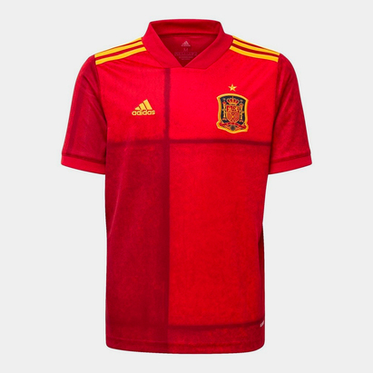 adidas Spain Home Shirt 2020 Junior