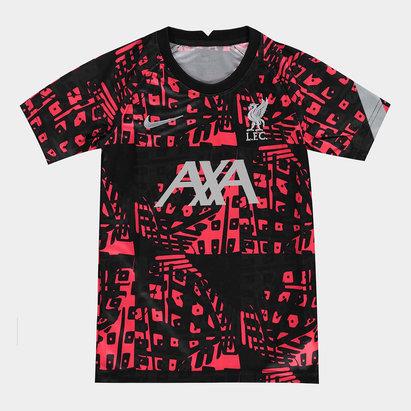 Nike Liverpool Pre Match Shirt 20/21 Kids