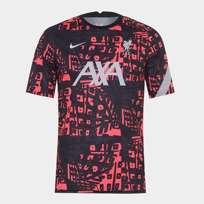 Nike Liverpool European Pre Match Shirt 20/21 Mens