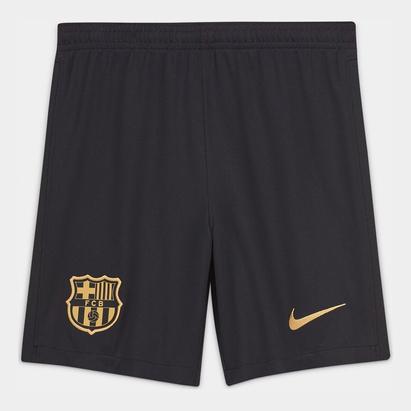 Nike Barcelona Away Shorts 20/21 Kids