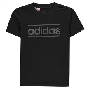 adidas Classic Logo T Shirt Junior Boys