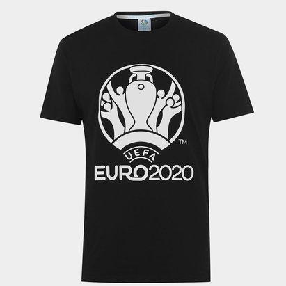 UEFA Euro 2020 Logo T Shirt Mens