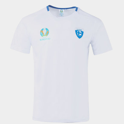 UEFA Euro 2020 Finland Polyester T Shirt Mens