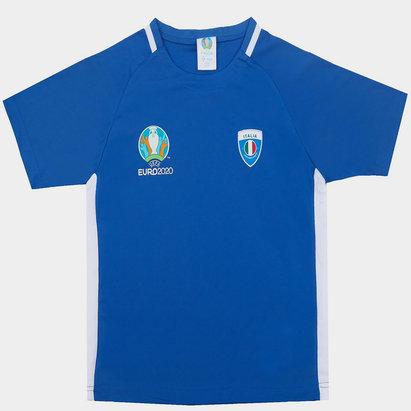 UEFA Euro 2020 Italy Poly Tee Juniors