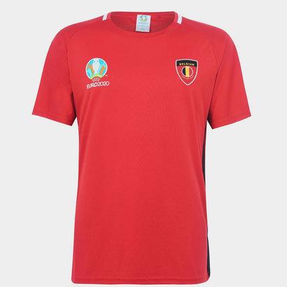UEFA Euro 2020 Belgium T-Shirt Mens
