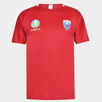 UEFA Euro 2020 Russian T Shirt Mens