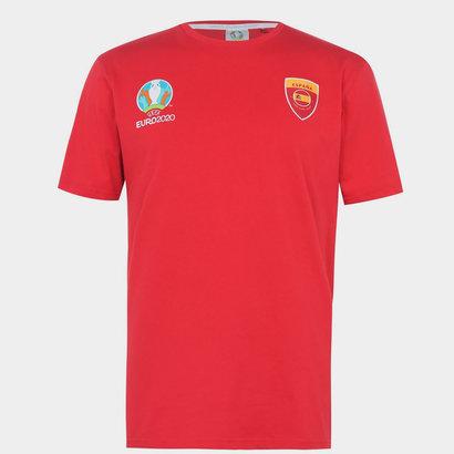 UEFA Euro 2020 Spain Core T shirt Mens