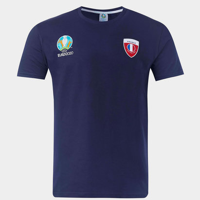 UEFA Euro 2020 France Core T Shirt Mens