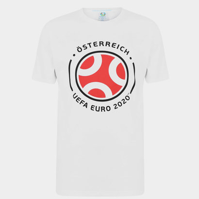 UEFA Euro 2020 Austria Graphic T-Shirt Mens