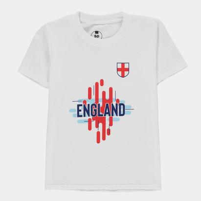 England Logo T Shirt Junior Boys