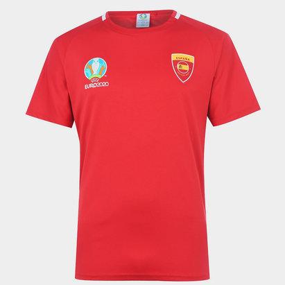 UEFA Euro 2020 Spain Poly T-Shirt