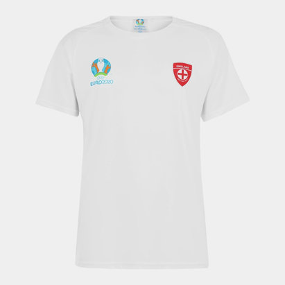 UEFA Euro 2020 England Poly T Shirt Mens