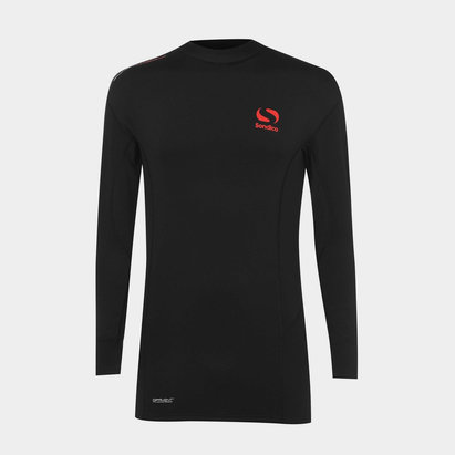 Sondico Thermal Mock Base Layer Top Junior Boys