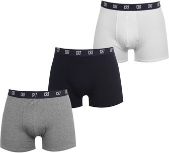 Cristiano Ronaldo CR7 3 Pack Boxer Shorts Mens