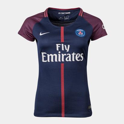 Nike París Saint-Germain 17/18 Mujer Réplica M/C - Camiseta de Fútbol
