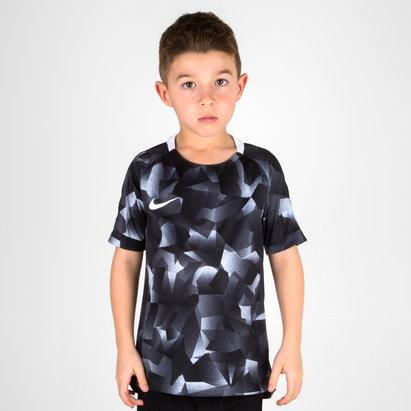 Nike Dry Fit Niños Squad M/C - Camiseta de Fútbol