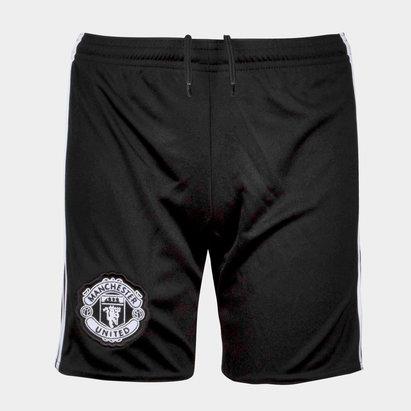 adidas Manchester United 17/18 Away - Shorts de Fútbol para Jóvenes
