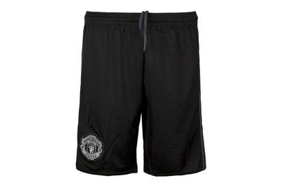 adidas Manchester United 17/18 Home - Shorts de Proteros para Jóvenes