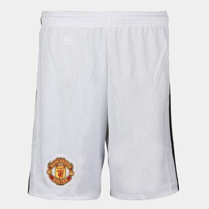 adidas Manchester United 17/18 Home - Shorts de Fútbol para Niños