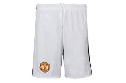 adidas Manchester United 17/18 Home Jóvenes - Shorts de Fútbol