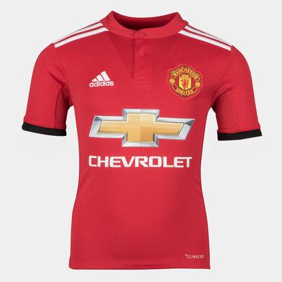 adidas Manchester United 17/18 Home - Replica, Camiseta de Fútbol para Jóvenes