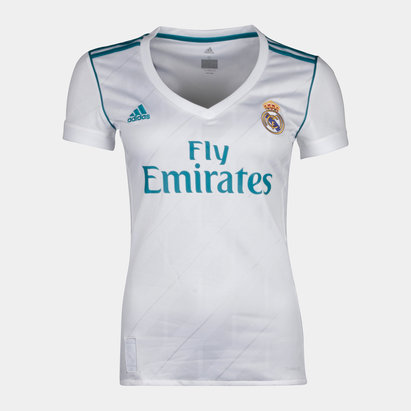 adidas Real Madrid 17/18 Mujer Home M/C Réplica - Camiseta de Fútbol