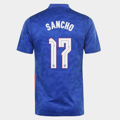 adidas England Jadon Sancho Away Shirt 2020