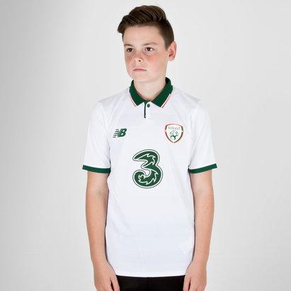 New Balance República de Irlanda 17/18 Niños Away M/C Réplica - Camiseta de Fútbol
