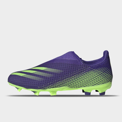 adidas X Ghosted .3 Laceless Childrens FG Football Boots