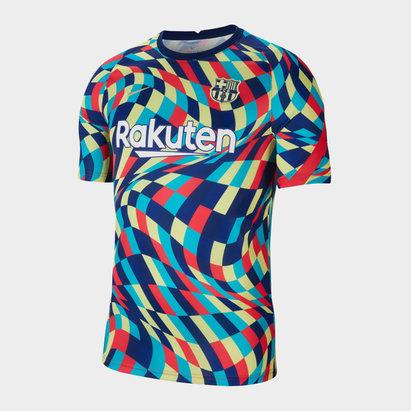 Nike Barcelona Pre Match Shirt 20/21 Mens