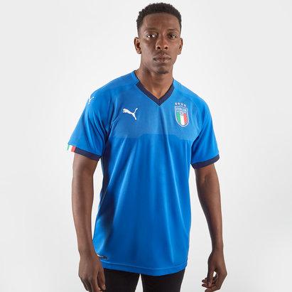 Puma Italia 2018 Home M/C Réplica - Camiseta de Fútbol