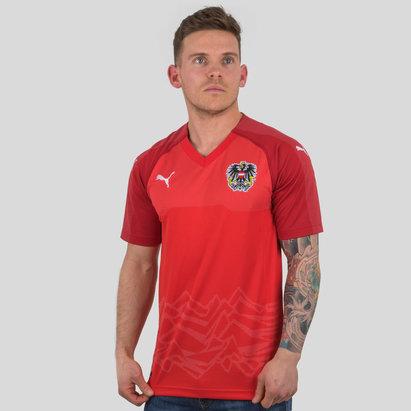Puma Austria 17/18 Home M/C Réplica - Camiseta de Fútbol