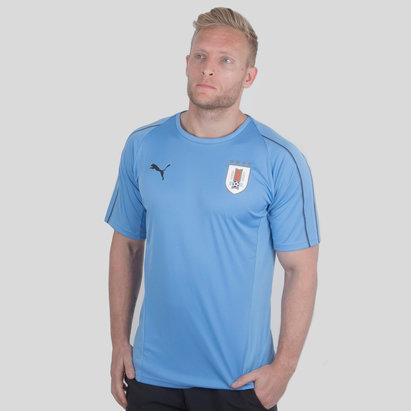 Puma Uruguay 17/18 M/C Fútbol - Camiseta de Entrenamiento