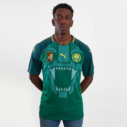 Puma Camerún 17 18 Home M C Réplica - Camiseta de Fútbol 34a54a8666a7d