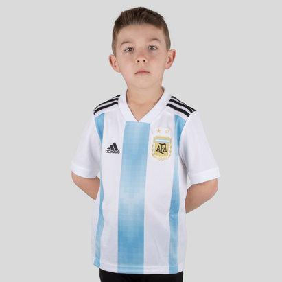 adidas Argentina 2018 Niños Home M/C - Camiseta de Fútbol