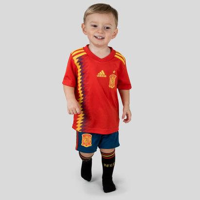 adidas España 2018 Home Mini Niños Réplica - Equipación de Fútbol