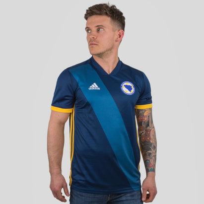 adidas Bosnia y Herzegovina 2018 Home M/C Réplica - Camiseta de Fútbol