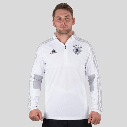 adidas Alemania 2018 1/4 Zip Fútbol - Chaqueta de Entrenamiento