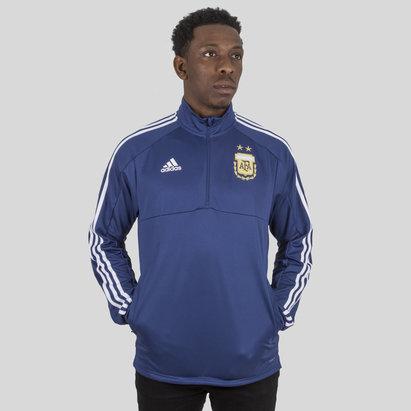 adidas Argentina 2018 1/4 Zip Fútbol - Top de Entrenamiento